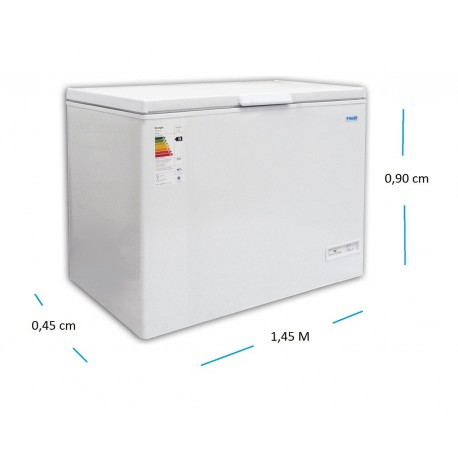 Freezer de pozo 400 Lts.