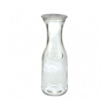 Botella 1 lt con tapa plastica